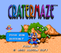 Cratermaze TG16 title.png
